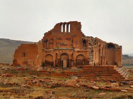 Армянский храм IV века включили в список находящихся под угрозой памятников Европы