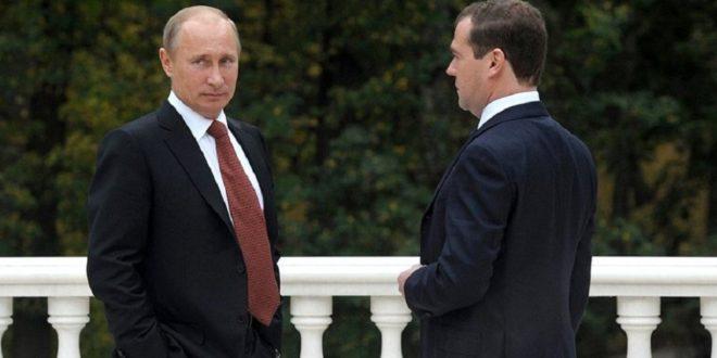 Путин поручил медведеву подготовить переход органов власти на российские средства шифрования